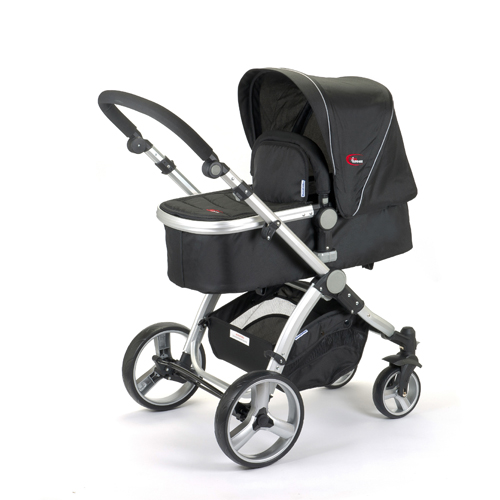 New Mamakiddies Tandem Double Pram Twin Stroller New Born